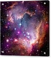 Magellanic Cloud 3 Acrylic Print by The  Vault - Jennifer Rondinelli Reilly