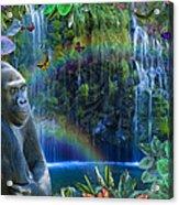 Magic Jungle Acrylic Print by Alixandra Mullins