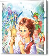 Magic Mirror Acrylic Print by Zorina Baldescu