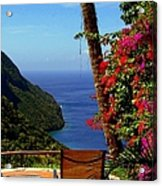 Magnificent Ladera Acrylic Print by Karen Wiles