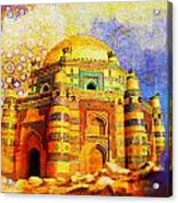 Mai Jwandi Tomb On Makli Hill Acrylic Print by Catf