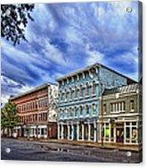 Main Street Usa Acrylic Print by Tom Mc Nemar