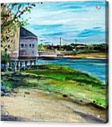 Maine Chowder House Acrylic Print by Scott Nelson