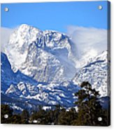 Majestic Mountains Acrylic Print by Tranquil Light  Photography