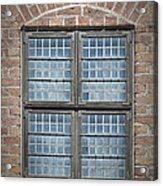 Malmohus Window Acrylic Print by Antony McAulay