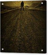 Man On A Mission Acrylic Print by Evelina Kremsdorf
