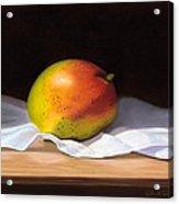 Mango Pastel Acrylic Print by Paul Riccardi