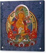 Manjushri Acrylic Print by Leslie Rinchen-Wongmo