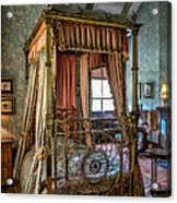 Mansion Bedroom Acrylic Print by Adrian Evans