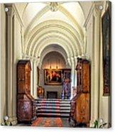 Mansion Hallway IIi Acrylic Print by Adrian Evans