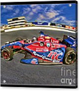 Marco Andretti Acrylic Print by Blake Richards