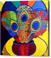 Mariantonia Acrylic Print by Jose Miguel Perez Hernandez