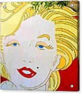 Marilyn Acrylic Print by Ethna Gillespie