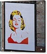 Marilyn Monroe Acrylic Print by Rob Hans