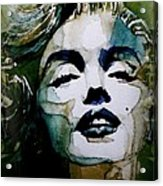 Marilyn No10 Acrylic Print by Paul Lovering