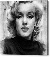 Marilyn Acrylic Print by Patrick OHare