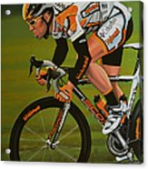Mark Cavendish Acrylic Print by Paul Meijering