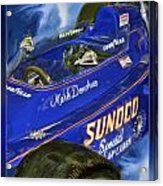 Mark Donohue 1972 Indy 500 Winning Car Acrylic Print by Blake Richards