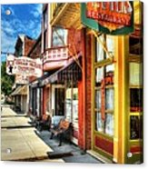 Mark Twain's Town Acrylic Print by Mel Steinhauer