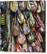 Market Bags 2 Acrylic Print by Brenda Bryant
