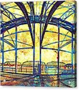 Market Street Bridge Arch Acrylic Print by Steven Llorca