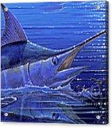 Marlin Mirror Off0022 Acrylic Print by Carey Chen