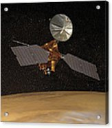 Mars Reconnaissance Orbiter Acrylic Print by Anonymous