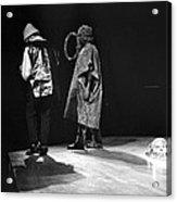 Marshall And Sonny 1968 Acrylic Print by Lee  Santa