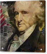 Martin Van Buren Acrylic Print by Corporate Art Task Force