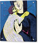 Mary And The Baby Jesus Acrylic Print by Genevieve Esson