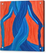 Mary - Mother Of Earth - Mother Of Light Acrylic Print by Daina White
