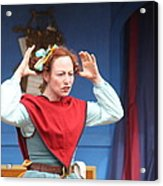 Maryland Renaissance Festival - A Fool Named O - 121217 Acrylic Print by DC Photographer