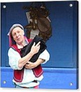 Maryland Renaissance Festival - A Fool Named O - 121219 Acrylic Print by DC Photographer