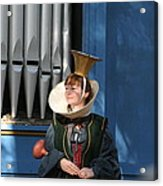 Maryland Renaissance Festival - A Fool Named O - 12128 Acrylic Print by DC Photographer