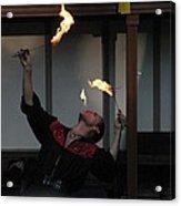 Maryland Renaissance Festival - Johnny Fox Sword Swallower - 1212102 Acrylic Print by DC Photographer