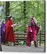 Maryland Renaissance Festival - People - 121289 Acrylic Print by DC Photographer