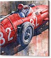 Maserati 250f J M Fangio Monaco Gp 1957 Acrylic Print by Yuriy  Shevchuk