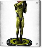 Mass Effect - Eclipse Soldier Acrylic Print by Frederico Borges