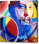 Matisyahu In Circles Acrylic Print by Joshua Morton
