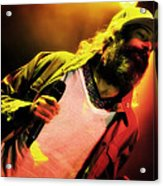 Matisyahu Live In Concert 2 Acrylic Print by The  Vault - Jennifer Rondinelli Reilly