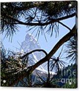 Matterhorn Acrylic Print by Mats Silvan