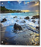 Maui Dawn Acrylic Print by Inge Johnsson