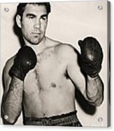 Max Schmeling Acrylic Print by Pg Reproductions