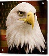 May Your Heart Soar Like An Eagle Acrylic Print by Jordan Blackstone