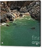 Mcway Into The Bay Acrylic Print by Adam Jewell