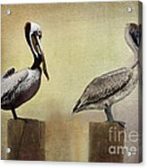 Me And My Missus Acrylic Print by Betty LaRue