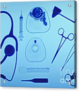 Medical Equipment Acrylic Print by Blair Seitz