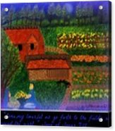 Meditation Number 4 Song Of Songs Acrylic Print by Maryann  DAmico