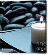 Meditation  Acrylic Print by Olivier Le Queinec