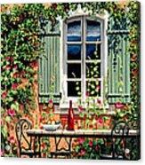 Mediterranean Memories - Oil Acrylic Print by Michael Swanson